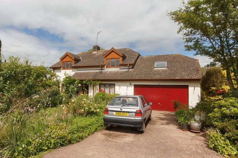 4 Bedrooms Detached House for sale in Pynes Close, Cheriton Fitzpaine