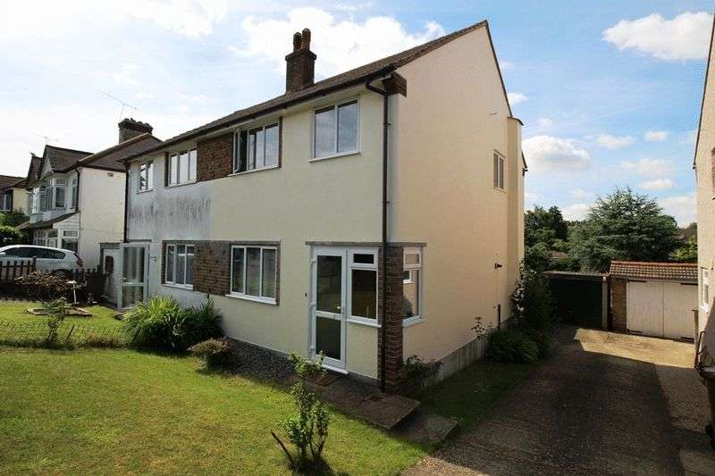 3 Bedrooms Semi Detached House for sale in BANSTEAD ROAD, CATERHAM ON THE HILL