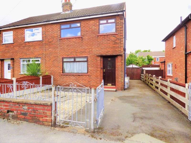 3 Bedrooms Semi Detached House for sale in Hill View Drive, Coppull