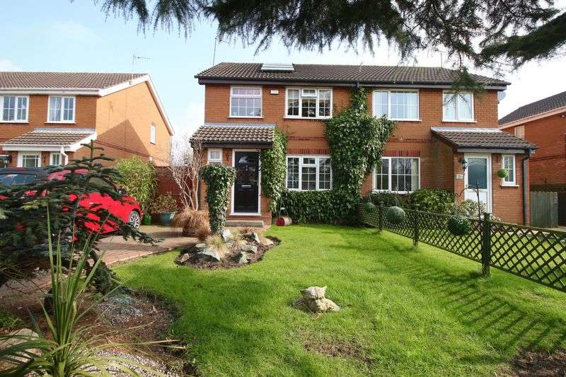 3 Bedrooms Semi Detached House for sale in Extended semi detached, Hutton Cranswick