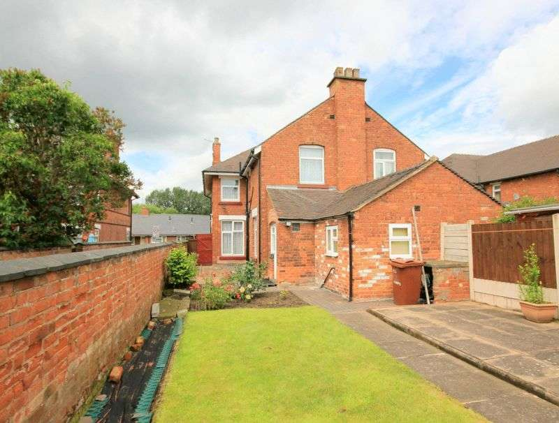 3 Bedrooms Semi Detached House for sale in Corporation Street, Stafford