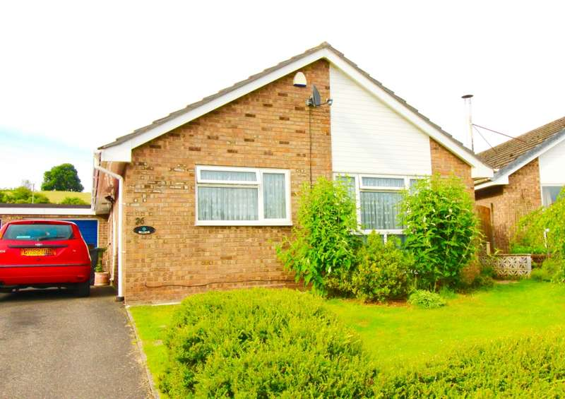 3 Bedrooms Bungalow for sale in Broadfields Close, Bishops Frome, Worcestershire, WR6