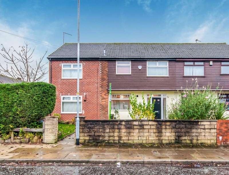 4 Bedrooms Semi Detached House for sale in Burnside Road, ROCHDALE, OL16