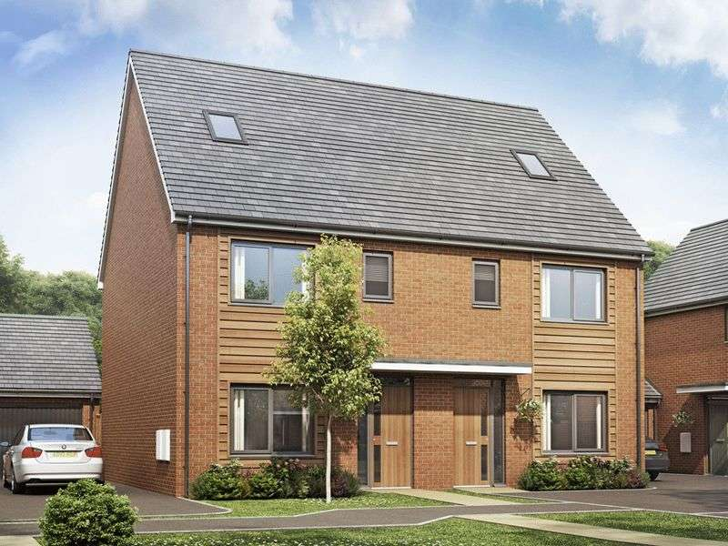 4 Bedrooms Semi Detached House for sale in The Becket, Bramshall Meadows, Uttoxeter
