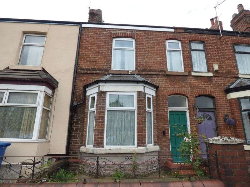 3 Bedrooms Terraced House for sale in Knutsford Road, Warrington