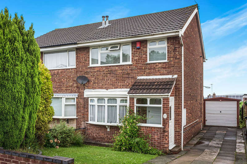 3 Bedrooms Semi Detached House for sale in Hoveringham Drive, Eaton Park, Stoke-On-Trent, ST2