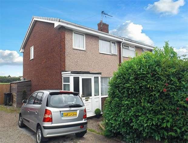 3 Bedrooms Semi Detached House for sale in Ash Lane, Mancot, Deeside, Flintshire