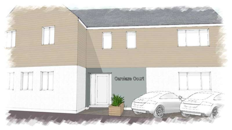 1 Bedroom Flat for sale in Carclaze Road, St. Austell