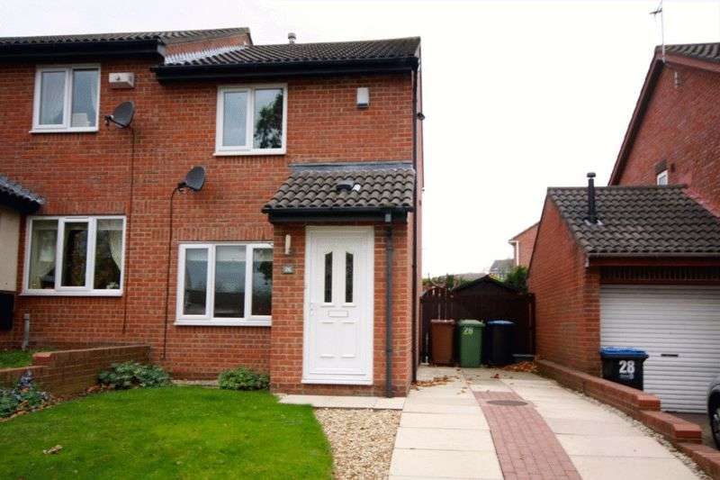 2 Bedrooms Semi Detached House for sale in Lisle Road, Newton Aycliffe