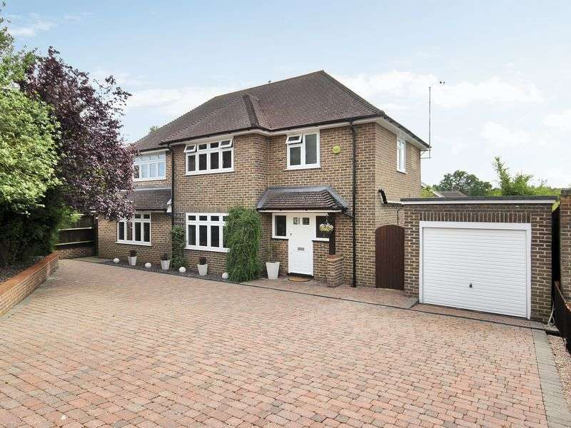 4 Bedrooms Detached House for sale in Mill Way, East Grinstead, West Sussex
