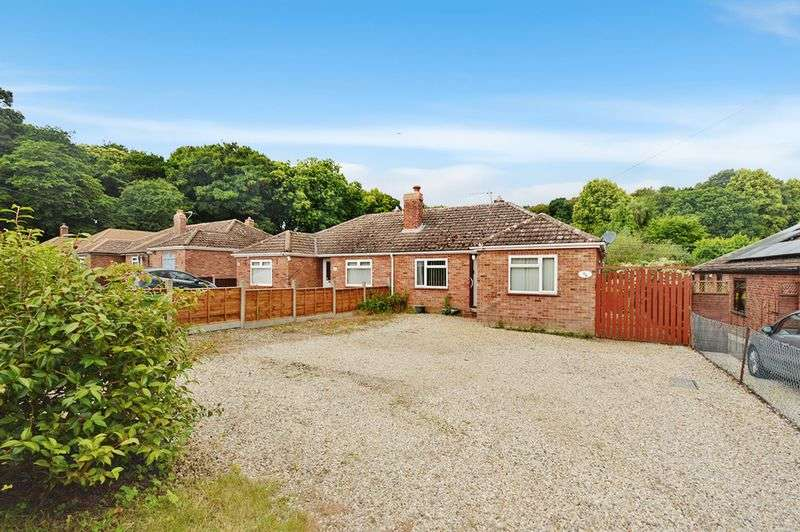 3 Bedrooms Semi Detached Bungalow for sale in Longwater Lane, New Costessey