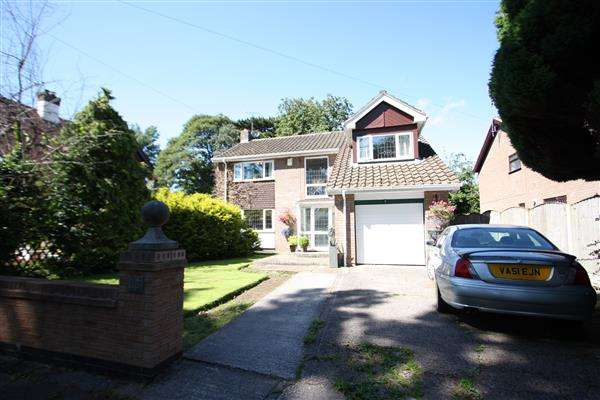 4 Bedrooms Detached House for sale in Hooton Way, Ellesmere Port