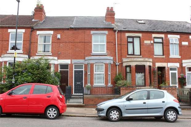 2 Bedrooms Terraced House for sale in Huntingdon Road, Earlsdon, Coventry, West Midlands