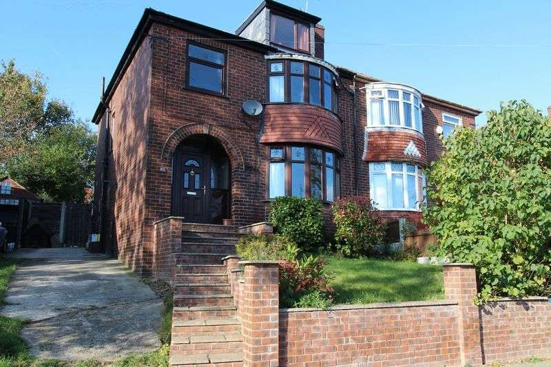 4 Bedrooms Semi Detached House for sale in Agecroft Road West, Prestwich, Manchester