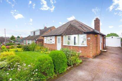 2 Bedrooms Bungalow for sale in Green Avenue, Chellaston, Derby, Derbyshire