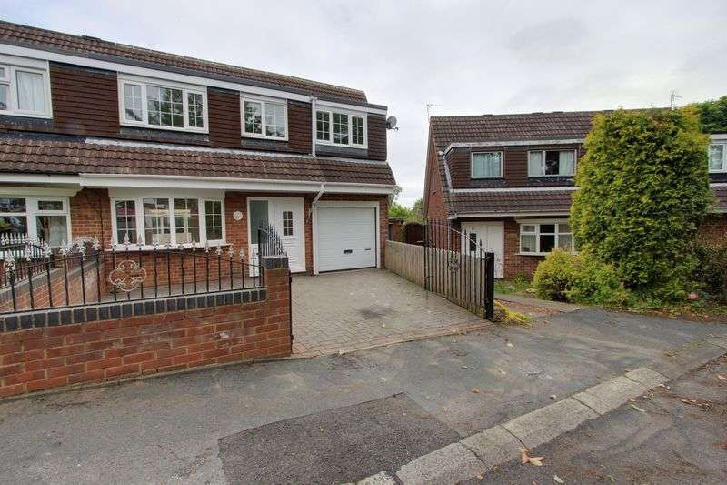 4 Bedrooms Semi Detached House for sale in Scripton Gill, Brandon