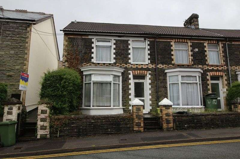 3 Bedrooms Terraced House for sale in Wood Road, Treforest, Pontypridd, CF37 1RQ