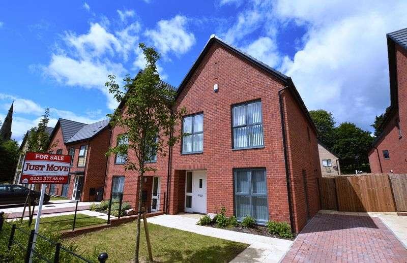 4 Bedrooms Semi Detached House for sale in Sir Benjamin Stone Way, Birmingham