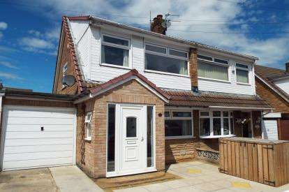 3 Bedrooms Semi Detached House for sale in Sandringham Drive, St. Helens, Merseyside