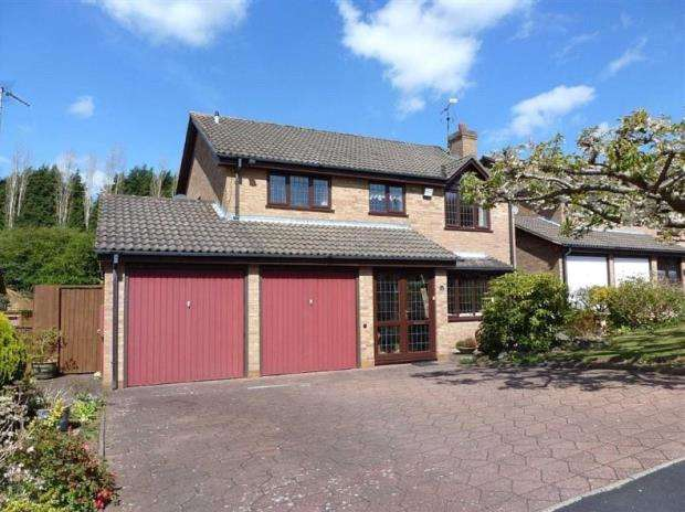 4 Bedrooms Detached House for sale in Oakford Drive, Allesley Green, Coventry, West Midlands