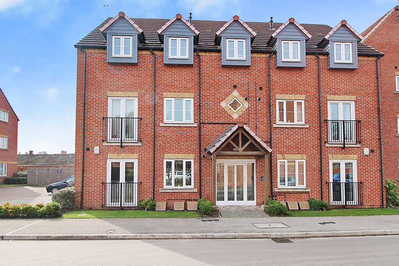 1 Bedroom Flat for sale in Rushes Close, Beeston, Nottingham