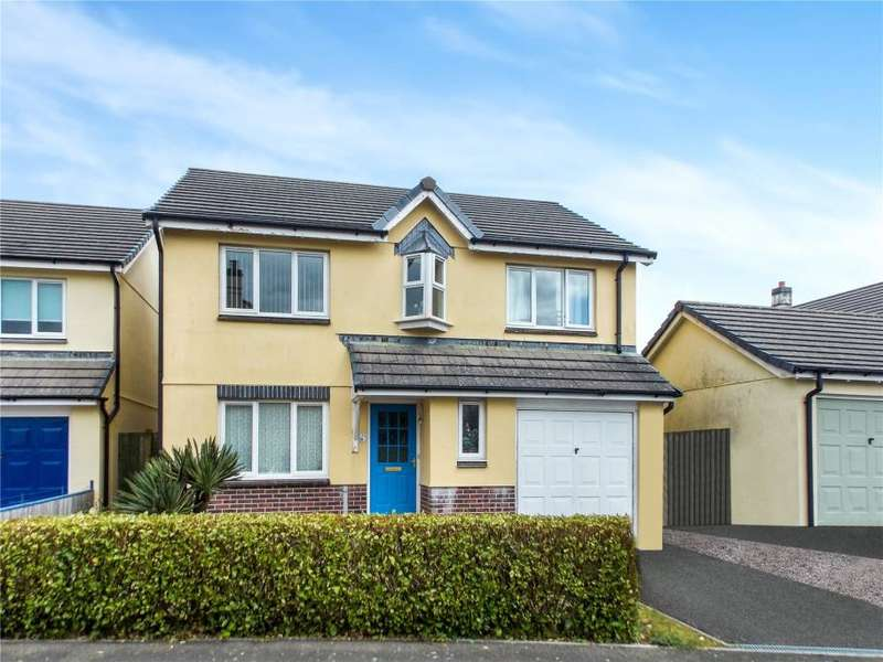 4 Bedrooms Detached House for sale in Robin Drive, Kensey Parc, Launceston
