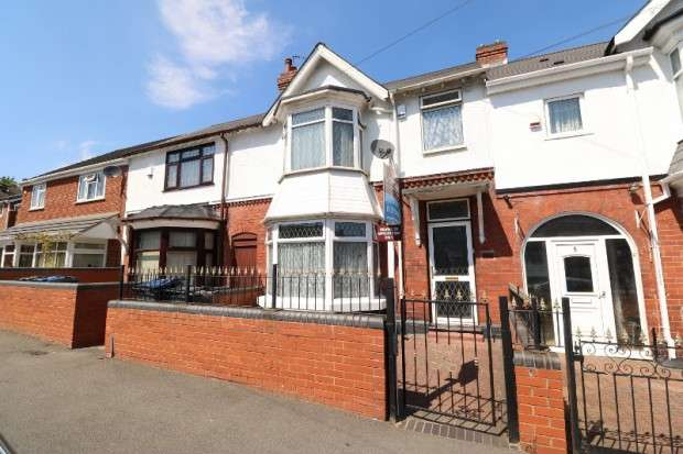 4 Bedrooms Terraced House for sale in Grafton Road, Handsworth, B21