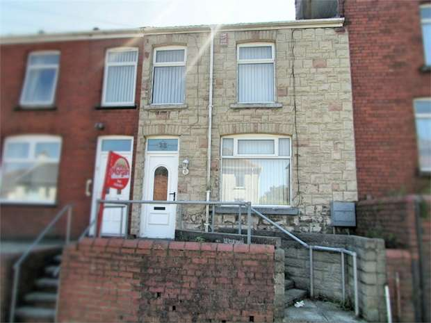 2 Bedrooms Terraced House for sale in Brynhyfryd Road, Briton Ferry, Neath, West Glamorgan