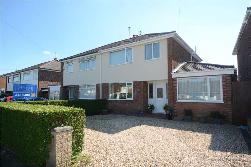 3 Bedrooms Semi Detached House for sale in Ridgewood Drive, Pensby, Wirral