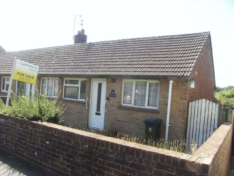 2 Bedrooms Semi Detached Bungalow for sale in School Hill, South Perrott