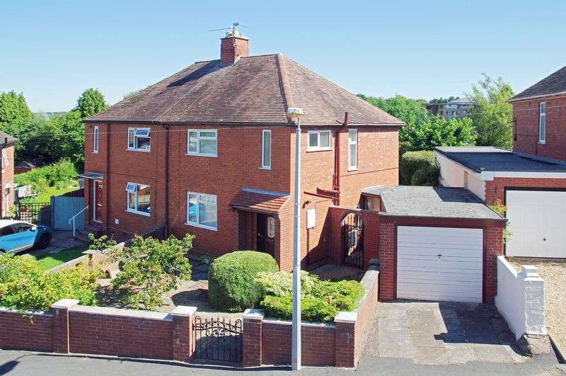 3 Bedrooms Semi Detached House for sale in Wrekin View, Madeley, Telford, Shropshire.