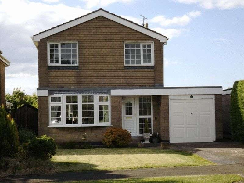 3 Bedrooms House for sale in Cheviot Lodge, Longframlington - Three Bedroom Detached