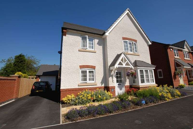 4 Bedrooms Detached House for sale in Saxon Close, Ashbourne