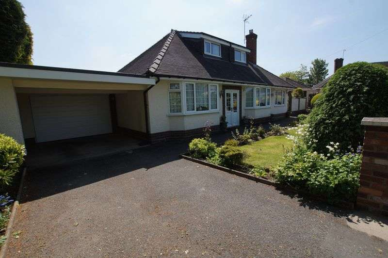 4 Bedrooms Detached Bungalow for sale in Glyndwr Road, Wrexham