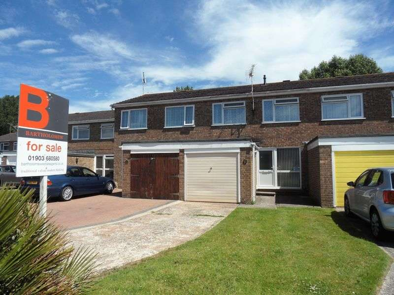 3 Bedrooms Terraced House for sale in Willow Crescent, Worthing