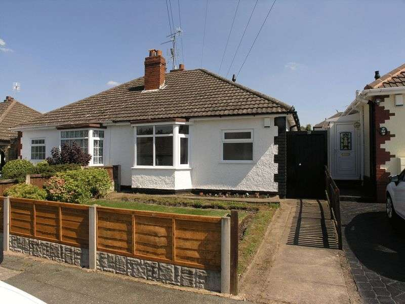 2 Bedrooms Semi Detached Bungalow for sale in Ward Grove, Wolverhampton