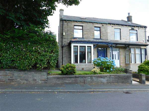 4 Bedrooms Semi Detached House for sale in Poplar Grove, Horton Bank Top, Bradford