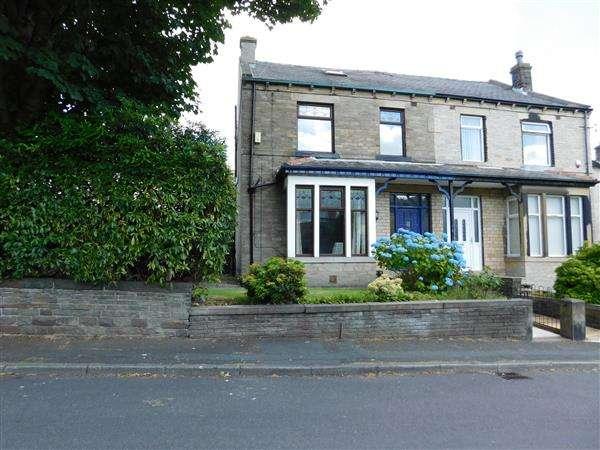 4 Bedrooms Semi Detached House for sale in Poplar Grove, Horton Bank Top, Bradford