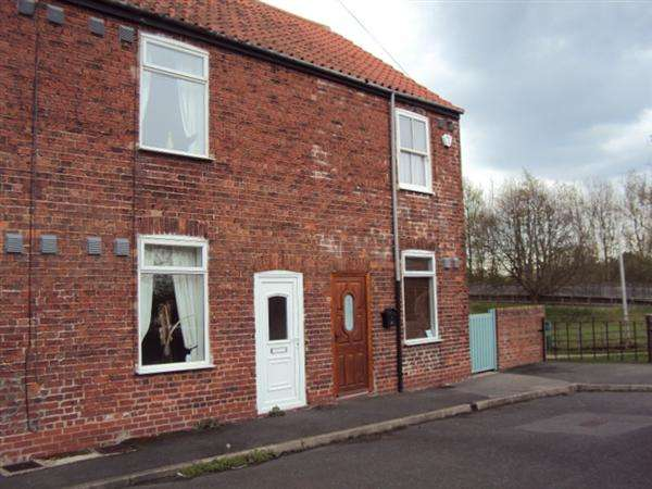 2 Bedrooms Terraced House for sale in Woodend, Shireoaks, Worksop