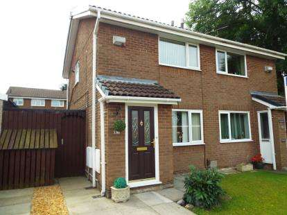 2 Bedrooms Semi Detached House for sale in Maypark, Bamber Bridge, Preston, Lancashire