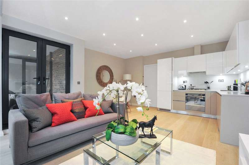 2 Bedrooms Flat for sale in Hargrave Place, London, N7