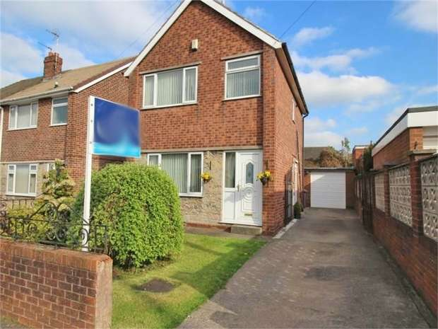 3 Bedrooms Detached House for sale in Brockley Avenue, Shuttlewood, Chesterfield, Derbyshire