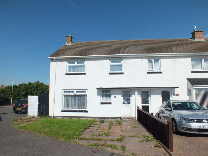 3 Bedrooms End Of Terrace House for sale in Woodbine Way, Hakin, Milford Haven