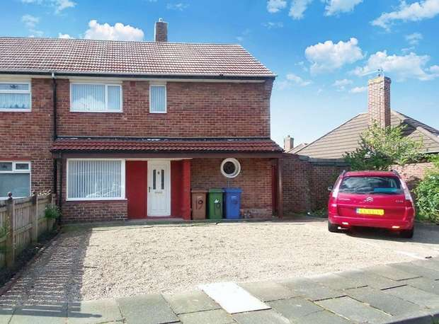 3 Bedrooms Semi Detached House for sale in Wharfedale Gardens, Blyth, Northumberland