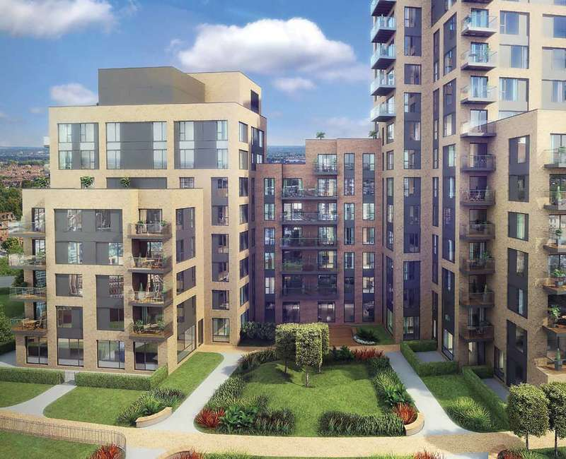 2 Bedrooms Flat for sale in Cherry Orchard Road, Croydon, CR9