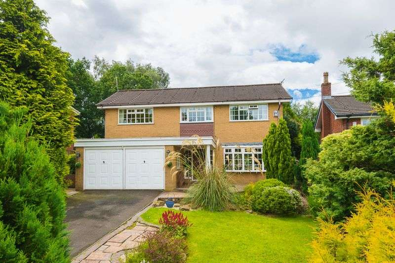 4 Bedrooms Detached House for sale in Rowton Rise, Standish