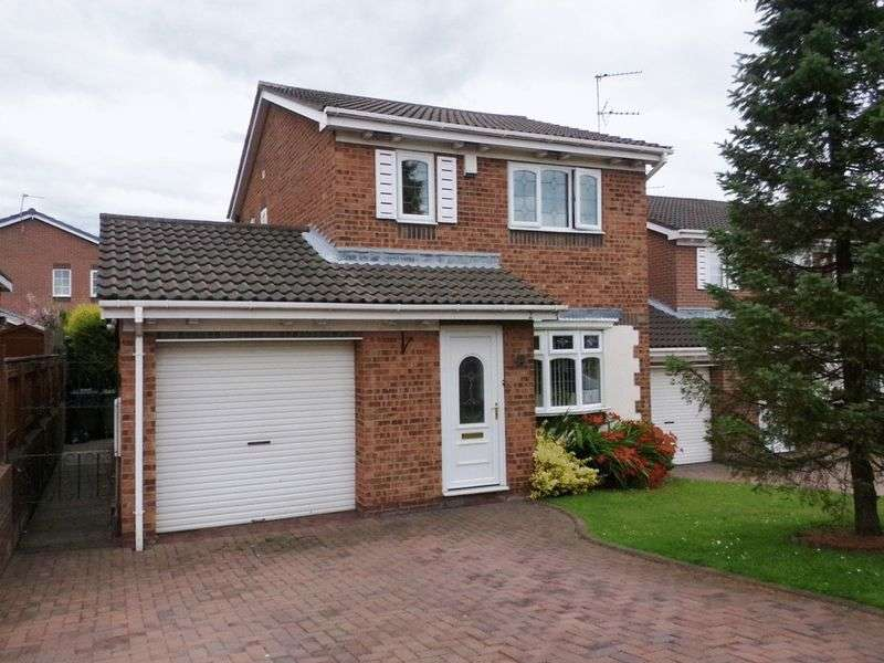 3 Bedrooms Detached House for sale in Axbridge Close, Choppington
