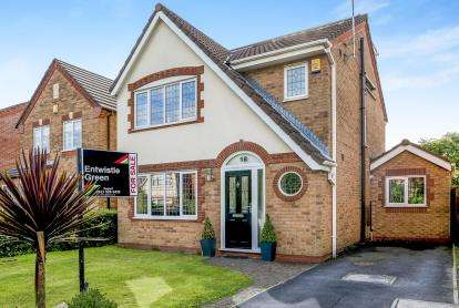 4 Bedrooms Detached House for sale in Pickworth Way, Melling, Liverpool, Merseyside, L31