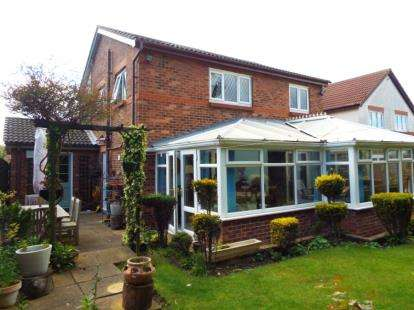 4 Bedrooms Detached House for sale in Haversham Close, Newcastle upon Tyne, Tyne and Wear, NE7