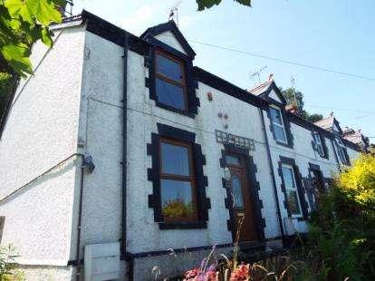 2 Bedrooms End Of Terrace House for sale in Bron Berwyn, Corwen, Denbighshire, LL21